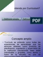 concepto Currículum