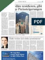 Wirtschaftsblatt - Städte werden sich stärker positionieren