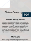 How to play roulette like a pro pdf julie gamble sittingbourne price list