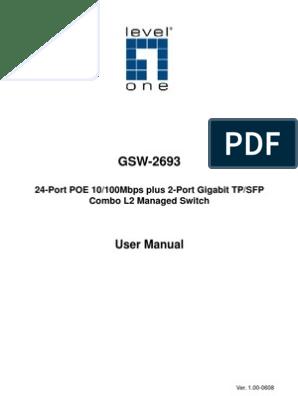 GSW-2693_UM   Ip Address   Computer Network