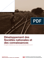 Développement des Sociétés nationales et des connaissances