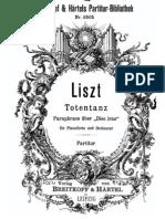 Liszt - Totentanz - Full Score