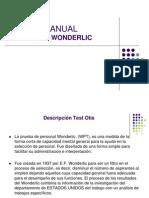 Manual Wonderlic