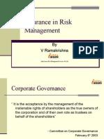 Insurance Risk Mgmnt
