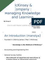 Group 9 B--McKinsey & Company