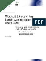eLearning User Guide