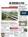 EL Colombiano Primera Página Noviembre 25