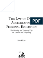 Accelerating Personal Evolution