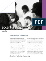 Accenture-Personal Side of Outsourcing