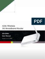 3G 6200n Manual