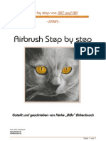 Airbrush Step by Step -Dana, Ein Katzenportrait