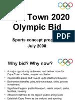 2020 Olympic Bid Presentation
