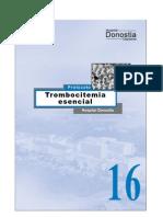 trombocitemia