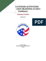 OAR VAST Guidance for Volunteers 2010[1]
