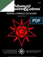 Manuel Complet du Golem (D&D) v2.2