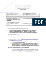 Compte rendu (2011-11-24) Logiciel libre