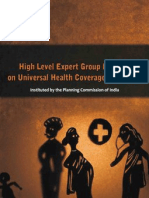 High Level Expert Group Report On Universal Health Coverage for India
