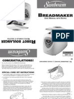 Sunbeam Bread Maker 5891