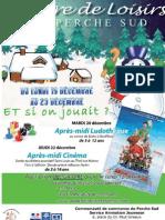Livret Vacances de Noël 2011 - Perche Sud