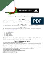 adidasrunning - Adventskalender Supernova