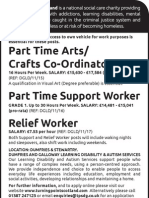 Atrs,Crafts Coordinator & Support, Relief Workers - Dumfries & Stewartry