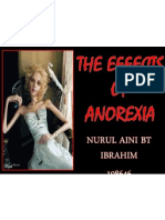 The Effects of Anorexia