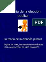 La teoría de la elección publica