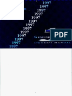 Owner Manual 1997 Chevrolet Cavalier