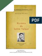 Silva Neto (1957) Historia del latín vulgar