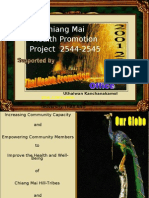 Health Promotion for the Marginalized Thai People in the North