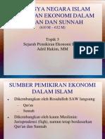 Ekonomi Islam Berdasarkan Quran Dan Sunnah