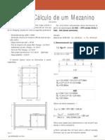 Projeto e Calculo Mezanino
