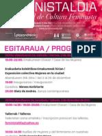 Flyer Feministaldia