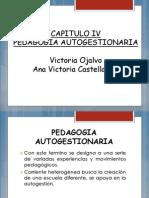 Pedagogia Autogestionaria Sesio 3 y 4