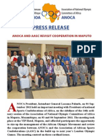ANOCA and AASC Revisit Cooperation in Maputo