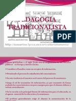 Pedagogia Tradicionalista Sesion 3 y 4