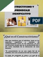 4 Constructivismo y Aprendizaje Significativo