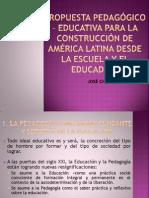 6 Propuesta pedagógico - educativa para la construcción de América Latina desde la escuela y el educador