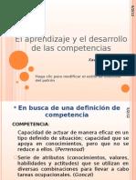 8 El Aprendizaje y El Desarrollo de Las Competencias