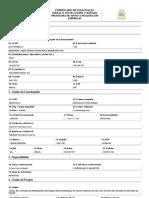 FAPEMA - Formulário para solicitação de Bolsa