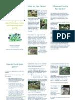 Alabama; Rain Garden Brochure
