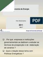 Economia Da Energia 2011 Aula 7 23 Nov Pa Alunos