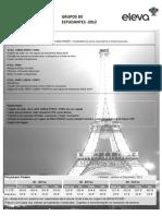 Grupos Estudantes 2012 - PARIS a La Carte - P CTE