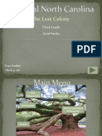 Lost Colony Interactive Power Point