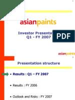 Analyst Presentation - June 2006