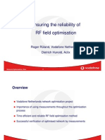 Actix Radioplan Vodafone Case Study Slides