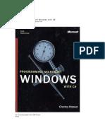 Programming Microsoft Windows With C#