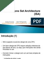 Slides ISA - Andrea, Joao, Luciano