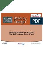 GRE Revised General Test Slides for EdUSA & Fulbright _6-2011