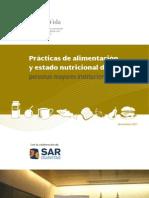 Practicas de Alimentacion y Estado Nutricional de Las Personas Mayores Institucionalizadas